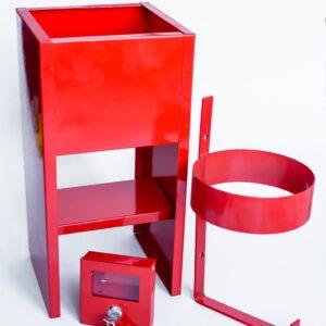 Подставка для огнетушителя с полимерным порошковым покрытием