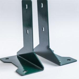 Основание для столба с полимерным покрытием (3 мм)