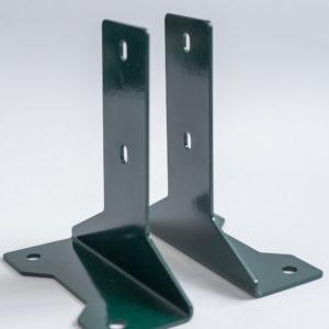 Основание для столба с полимерным покрытием (2 мм)