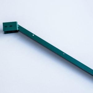 L-образный наконечник из цинка 1.5мм в полемере для столба 60*40