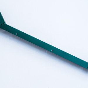 L-образный наконечник из цинка 1.5мм в полемере  для столба 60*60