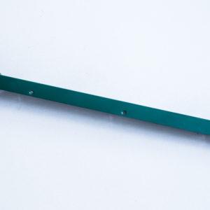 L-образный наконечник из цинка 1.5мм в полемере  для столба 80*80