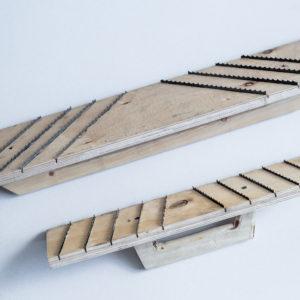 Рубанок для газобетона с длиной 700 мм — 8 полозьев